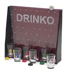 The Price is Right Plinko has gooten dressed up to party  Drinko Shot Game- $15