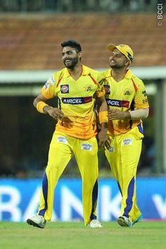 Devon Smith, Ravindra Jadeja, Chennai Super Kings, Cricket Sport, Krishna, Pj, Army, Lovers, Yellow