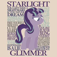 The Many Words of Starlight Glimmer