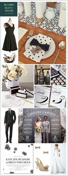 pinterest black and white wedding | ... Black + White post or follow our REVEL Black board on Pinterest