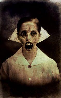 Enfermera - Nurse by demitrybelmont.deviantart.com on @deviantART