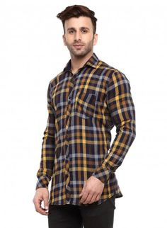 Buy Checked Brush Twill Casual Shirt Online at Low prices in India on Winsant  #shirts #casualshirt #mensfashion #fashionblogger #fashion #style #winsant #pinterestmarketing #pinterest Formal Shirts For Men, Online Shopping Websites, Daily Wear, Workout Shirts, Short Sleeves, Men Casual, Menswear, India, Men Shirt
