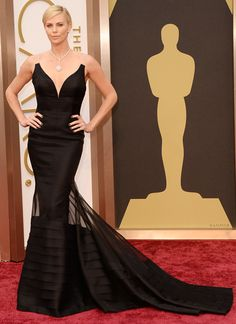 Charlize Theron at the #Oscars