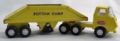 Tiny Tonka No. 655  Bottom Dump Truck