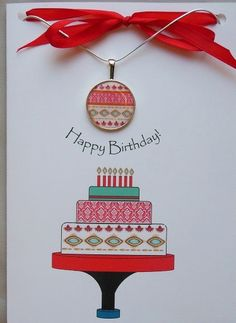 This Birthday Card And Necklace Gift Set Has That Sophisticated Tribal Style I Love So Much
