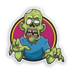Buy Zombie by SARAROOM on GraphicRiver. Vector illustration of Cartoon zombie Art Zombie, Zombie Cartoon, Zombie Face, Dope Cartoons, Dope Cartoon Art, Cartoon Clip, Zombie Drawings, Zombie Style, Painting Art