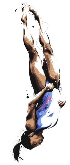 Sports for sport haters illustration s p o r t s - a r t иллюстрации, спорт, Simone Biles, Sports Art, Kids Sports, Sport Photography, Video Photography, Scrapbooking Sport, Magdiel Lopez, Snowboard, Video Games For Kids