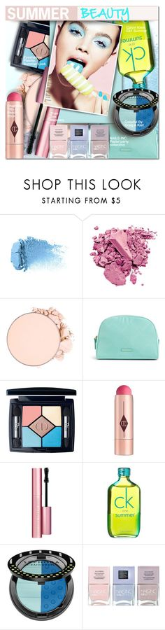"""Summer Beauty"" by barbarela11 ❤ liked on Polyvore featuring beauty, NYX, Vera Bradley, Christian Dior, Charlotte Tilbury, Too Faced Cosmetics, Calvin Klein, Sephora Collection and Nails Inc."