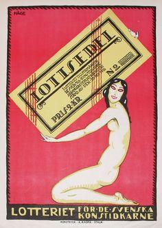 Hallå!: 25 Vintage Posters from Sweden