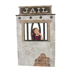 Jail Cell Photo Stand-Up - OrientalTrading.com Western Party Supplies 8e27ffcd4bbf