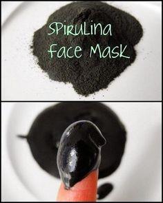 DIY Spirulina Face Mask (for pennies) based on the $65 Rejuvenating Spirulina Masque by Kerstin Florian.