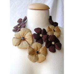 Tour de cou Fleurs de soie