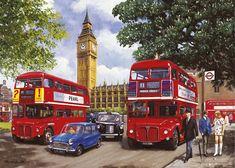 лондонский автобус живопись: 9 тыс изображений найдено в Яндекс.Картинках