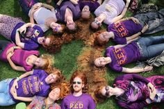 """This past weekend, lovely redheads from around the world headed to The Netherlands to celebrate """"Roodharigendag"""" – Redhead Day. 