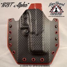 Alpha OWB Holster - New Breed Tactical: Custom Kydex Products Concealed Carry Holsters, Kydex Holster, Car Wrap, Self Defense, Tactical Gear, Leather Working, Firearms, Carbon Fiber, Wolf