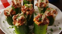 66 Easy and Healthy Party Appetizers Lasagna Zucchini Cups Healthy Low Carb Recipes, Healthy Appetizers, Appetizers For Party, Appetizer Recipes, Keto Recipes, Popular Appetizers, Lasagna Recipes, Healthy Pizza, Dinner Parties