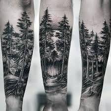 Image result for forearm tattoos for men trees