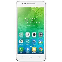 Lenovo C2 smarttelefon (hvit)