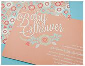 tons of cute baby shower ideas!
