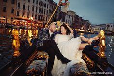 Wedding In Venezia, Ślub w Wenecji. Photo taken by Marek Koprowski