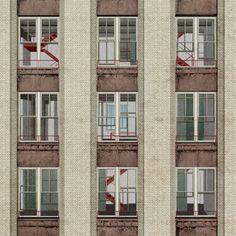 Facade, Michigan Central Station, Detroit MI | Thesis : Maximilian Kocademirci, Leibniz Universität Hannover (2015)