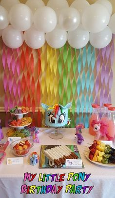 Patty Cakes Bakery: My Little Pony Birthday Party