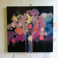zoe pawlak it takes time to make magic- another painting of hers that I like