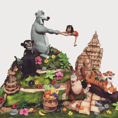 The jungle book  by Richardscakes