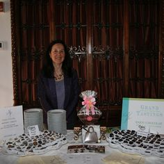 Enjou Chocolat at the Grand Tastings Event celebrating the Jersey Battered Women's Service.
