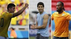 GUÍA TV: Colombia busca clasificación y Uruguay seguir con vida. June 19, 2014.