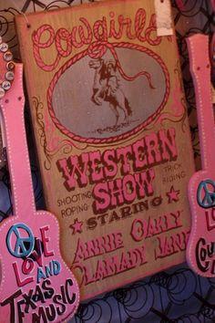 COWGIRLS WESTERN SHOW - BIG PI - Junk GYpSy co.