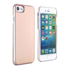 0e6991820fb363 Brushed Metal Back Shell for iPhone 6   6S - Rose Gold
