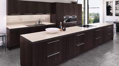 leather look arbeitsplatten aus naturtein von strasser steine sind exklusiv die seidig matte. Black Bedroom Furniture Sets. Home Design Ideas