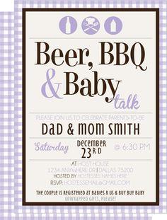 Baby-Q Backyard Baby Shower