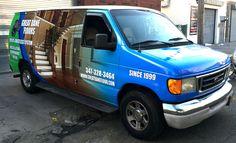 Van Full Wrap With Custom Graphic Design.