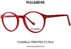 Pull&Bear PBG1760 C3 Red Eyewear, Bear, Eyeglasses, Bears, Sunglasses, Eye Glasses, Glasses