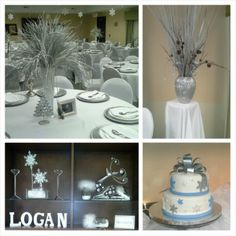 Winter Wonderland Baby shower theme.