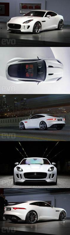 Best Sports Cars   :   Illustration   Description   Jaguar F-type Coupe
