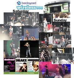 """""""Wireless Festival Collage 1"""" by azzrichgirl12 on Polyvore"""