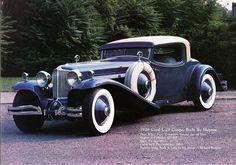 1929 Cord Coupe, Body by Haynes – En Güncel Araba Resimleri Auto Retro, Automobile, Classy Cars, Old Classic Cars, Classic Motors, Unique Cars, Drag Cars, Old Cars, Dream Garage