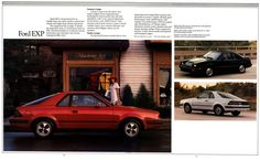 1985 Ford EXP-10-11