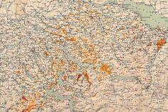 Ausschnitt aus der Moorkarte der Schweiz 1903 [1904]