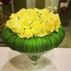 Bouquet sobre base recoberta