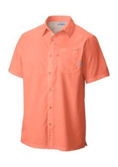 Columbia Men's Big & Tall Slack Tide Camp Shirt - Bright Peach - 2Xl