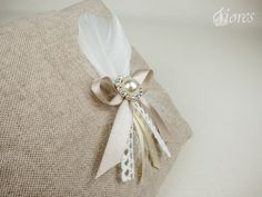 """Svadobné pierka """"Angel"""" Perfect Wedding, Napkin Rings, Diy And Crafts, Angeles, Feather, Decor, Feathers, Angels, Quill"""