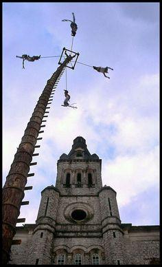 ✓ Bucket List #125: Visit Cuetzalan, Puebla  to see original ceremony of Voladores de Papantla.