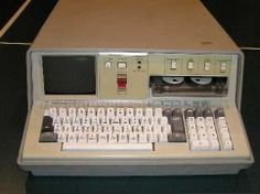 A computer called SCAMP, created in 1975. As you can see, it doesn't have a mouse due to the fact that you could only write code on it. The mouse wasn't invented yet.