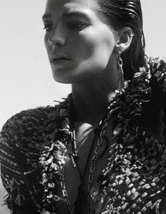 Daria Werbowy in Vogue Paris June/July 2015 by David Sims Daria Werbowy, David Sims, Emmanuelle Alt, California Style, Fashion Night, Gisele, Vogue Paris, Diane Von, June