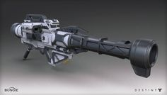 ArtStation - Destiny - House of Wolves - Rocket Launcher, Mark Van Haitsma