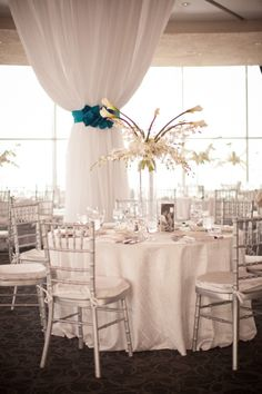 Lovely and simple table setting